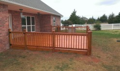 Wood Decking in OKC by Riemer and Son Landscaping