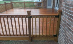 Wood Deck in OKC by Riemer and Son