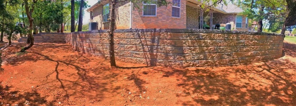Retaining Wall Installation OKC