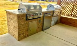 Built in Outdoor BBQ Grills